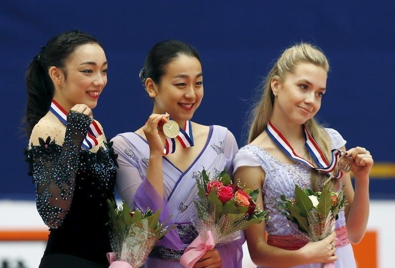 フィギュア=2季ぶり復帰の浅田が中国杯優勝、本郷が2位