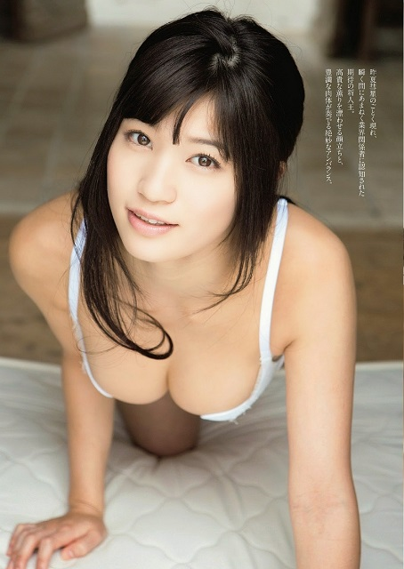 Takasaki Shoko 高崎聖子 Weekly Playboy April 2014 Photos 3
